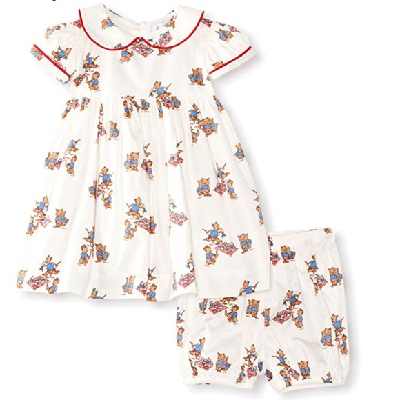 d5ea0c19c Rachel Riley Dresses | New 18 M Baby Girl Toddler Bear Dress | Poshmark
